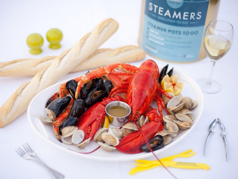 Steamers sources only the highest quality shellfish for our Steamer Pots To Go®. Ours are the original and the best!