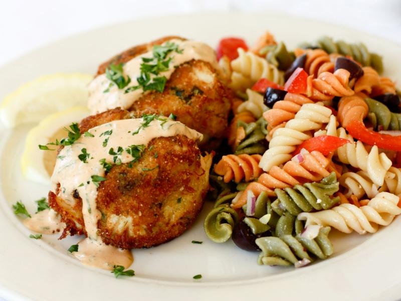 Steamers crabcakes are made using only jumbo lump crabmeat - We've even had Marylanders say they are the best they've ever had!