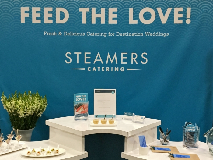 The Steamers' booth at the 18th Annual Outer Banks Wedding Expo.