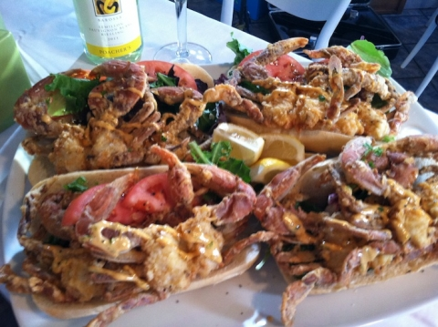 Steamers Soft Shell Crab Sandwich